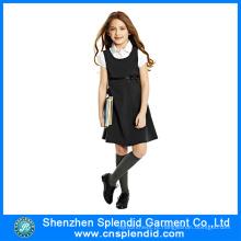 Alta qualidade personalizado meninas moda uniforme da escola secundária