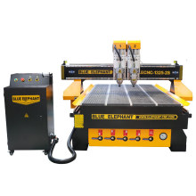 Hot Sale 4X8 FT CNC Router 1325 with Double-Head on Wood Metal Stone Cabinet Chair MDF PVC Door