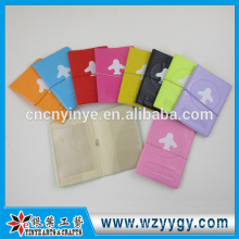 custom clear pvc passport holder
