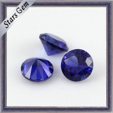 Круглая форма Сапфир 34 # Камень