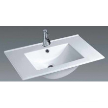 Lavabo superior montado del cuarto de baño (80E)