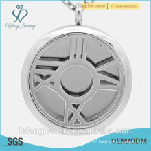New arrival Stainless Steel antique silver open locket