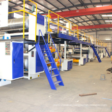 Corrugated cardboard 3ply 5ply 7ply production line /carton corrugating machine/automatic cardboard making machine