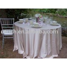 Tablecloth, Taffeta plain table cover, table linen