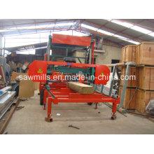Máquina Portable de la serrería de carpintería Sierra de banda Horizontal