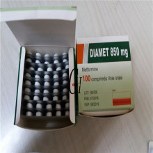 Tabletas de metformina 850 mg
