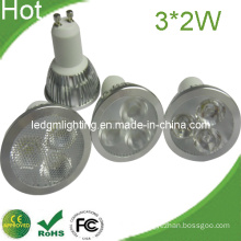 Newest High Quality Three-in-One Lens 6W LED Spot Light