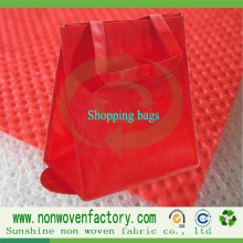 Nonwoven de Spunbond do polipropileno para o saco de Shoppinig