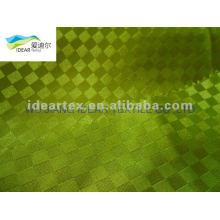 Polyester jacquard Satin Fabric for fashion apparel