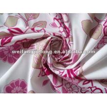 tela impresa precio bajo del poliéster para la tela impresa precio de la tela del poliéster del bedsheet poliéster