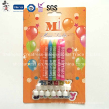 Taper Birthday Candle with Happy Birthday Printing