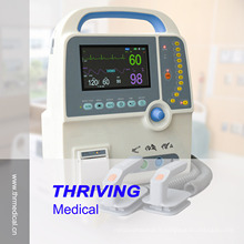 Défibrillateur portable avec ECG