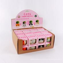 Caja de presentación personalizada de papel Kraft, caja de presentación plegable corrugada en venta