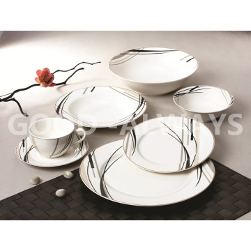 New Bone China Geschirr Set einfaches Design