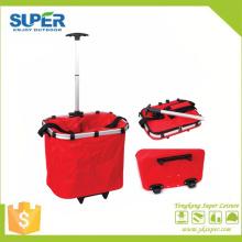 Bolsa trolley para compras con ruedas (SP-325)