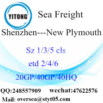 Shenzhen Port Sea Freight Shipping ke Plymouth baru