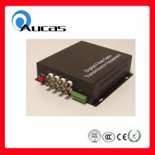 Good price 8 channel single mode fiber optica video transmitter /receiver
