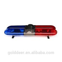 Halogen Rotating Lightbar Police Emergency Led Light Bar