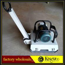 Barato placa compactadora de apisonamiento 4KW placa compactador eléctrico en venta
