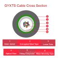 Gyxts Central Loose Tube cabo óptico ao ar livre