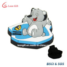 Bear / Animal Elephant Design PVC caoutchouc Icebox aimant