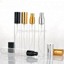 Muestra de aerosol de vidrio tabular de alta calidad vial de vidrio de 10 ml 2 ml para perfume