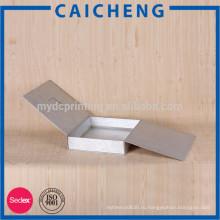 Подгонянный матовая картонная коробка напечатанная плоский пакет для одежды