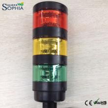 IP67 Tres Pilas Luz de la torre de la señal del LED con 3 años de garantía
