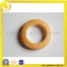 customized wooden color Plastic curtain Eyelet Rings