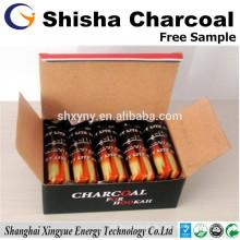 Lange Brennzeit 33mm Shisha Holzkohle für arabische Shisha