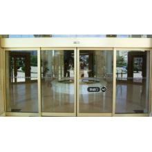 Ниже 60 дБ Стеклянные Раздвижные рамки Индукционная автоматическая дверь