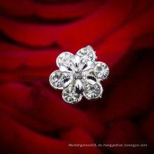 Verschönerung Blume Braut Blumenstrauß Schmuck Zubehör Mode Kristall Rhinestone Brosche Pin für Hochzeit Bouquet