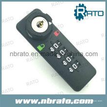 Four Number Plastic Mechanical Combination Locks