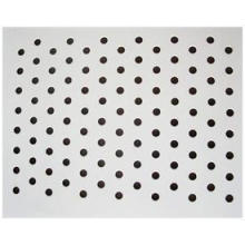Anodized Aluminium Perforated Metal Sheet (black, silver, copper, brown, gold)