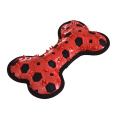 Resembling a dog bone china accesories dog toys chew squeeky red