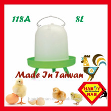 High Quality Sleeve Type Drinker 8L with Legs Poultry Drinker