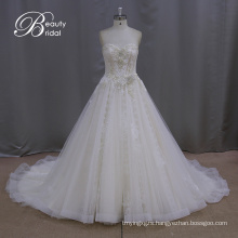 New Style A-Line Bridal Dresses Sequin Crystal