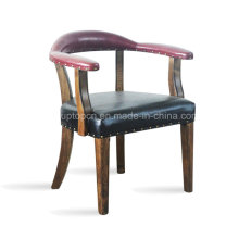 Upholstery Commercial Leather Restaurant Chair (SP-EC482)