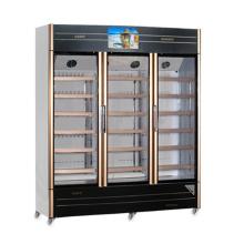 1050L Витрина мультимедиа с открывающейся стеклянной дверью со светодиодным экраном