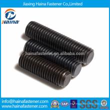 Tornillo de fijación de acero de aleación con punto plano