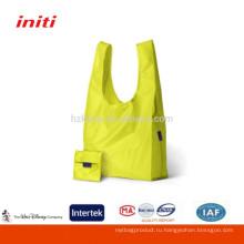 2016 Оптовая Nylon Складная хозяйственная сумка для покупок