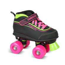 Soft Boot Quad Roller Skate for Kids (QS-38-1)
