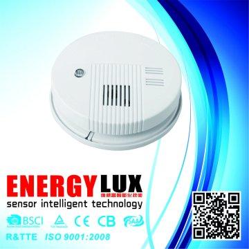 Es-S01 Popular 9V DC Battery Sensor sem fio Alarme de fumaça