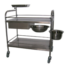 Medical Stainless Steel Treatment Trolley (THR-MT035)