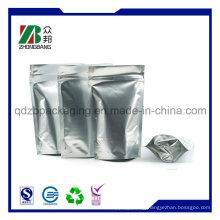 Resealable Silver Zip Lock Aluminum Foil Bag
