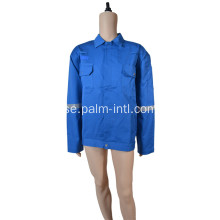 100% Cotton Flame Retardant Middle Bule Suit