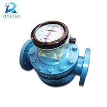 Medidor de fluxo de raízes de medidor de fluxo de óleo diesel digital