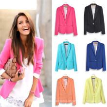 Hight Qualität Abnehmen Freizeit Outwear Frauen Anzüge (MU6626-1)