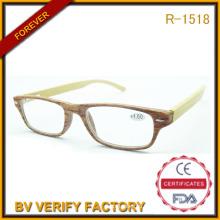 Популярный дизайнер очков 2016 фоторамки пластиковые очки с бамбуковый храм