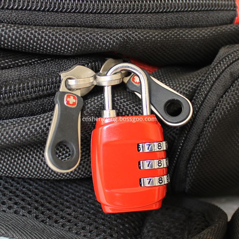 Lock Your Bag Safe